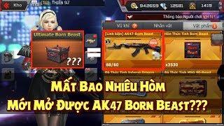 CF Mobile / CF Legends : 40.000 GEM Mở Hòm Săn AK47 Born Beast - Mở Bao Nhiêu Hòm Mới Ra?