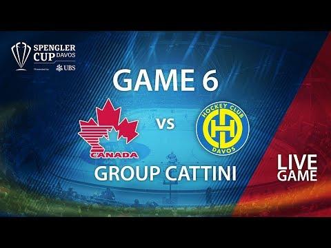 Team Canada - HC Davos | Game 6 | Spengler Cup Davos 2017