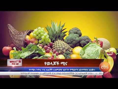 What's New: Ethiopia Somali Region/ Healthy Diet/ Friendship