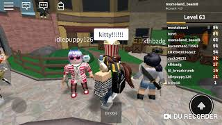 Doing weird things on roblox