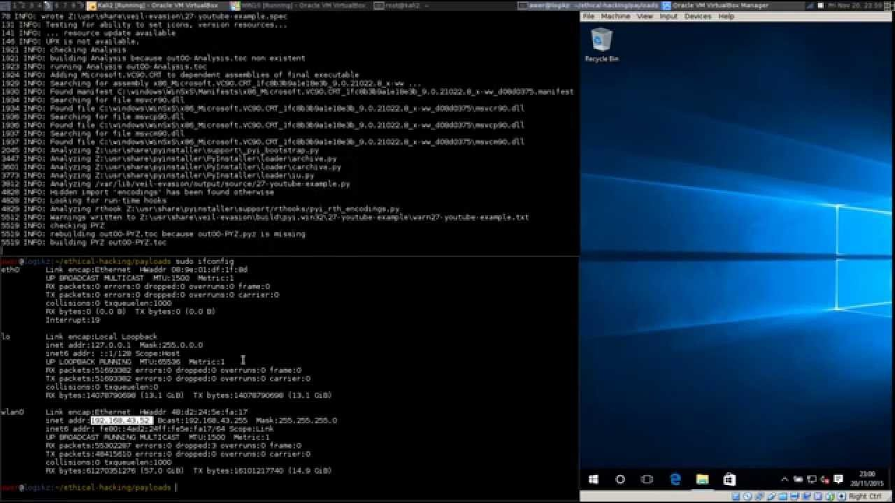 Windows 10 Hack - Evade Win Defender with a Python Reverse HTTP Example