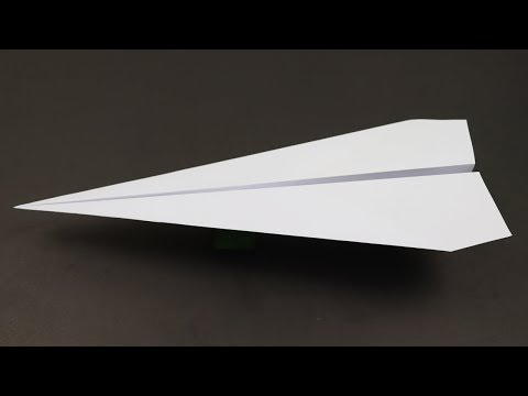 DIY: PAPER AIRPLANE THAT FLIES !!! HOW TO MAKE PAPER AIRPLANES FOR KIDS - ORIGAMI PLANE THAT FLY !!!