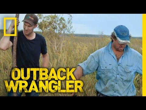 Grass Fishing for Crocs | Outback Wrangler