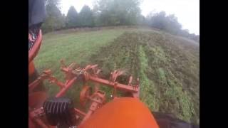 Chisel plowing with the WD