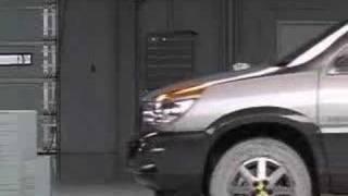 Crash Test 2002 - Discontinued  Buick Rendezvous IIHS