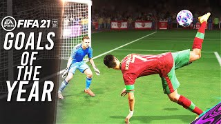 FIFA 21 -🔥BEST GOALS OF THE YEAR!🔥