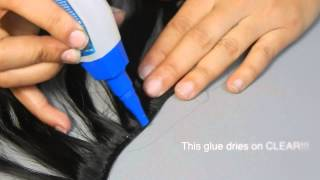 How to GLUE & STOP Hair Extensions from SHEDDING!