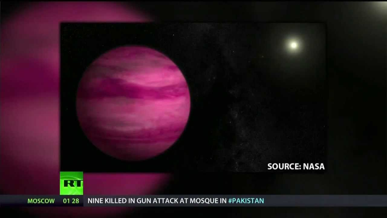 Curvy, hot & pink: solar system's latest addition