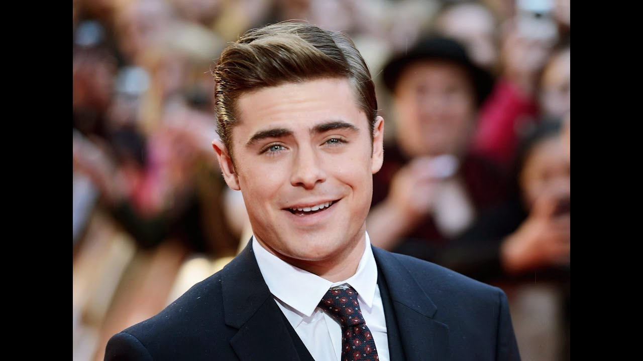 Collection Of Zac Efron Hairstyles Youtube