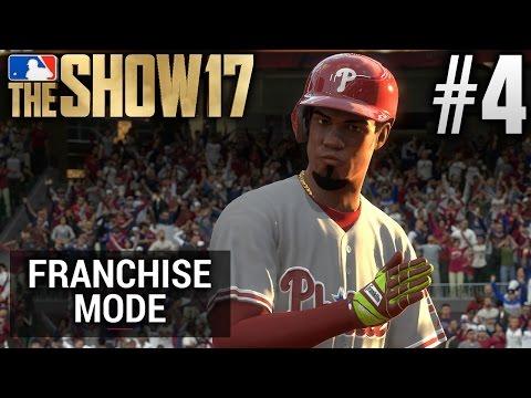 MLB The  17 Franchise Mode  Philadelphia Phillies  EP4  NICK WILLIAMS' MLB DEBUT G58 S1