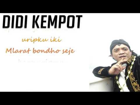 Didi Kempot - Cidro Lirik