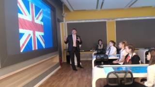 Интегрированный урок английского языка в 3D кабинете. ШНТ