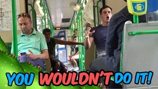 One of Janoskians's most viewed videos: You Wouldn't Do It (public video)
