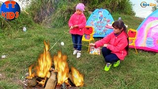 ЩЕНЯЧИЙ ПАТРУЛЬ PAW Patrol Ярослава и Хелло Китти на пикнике HELLO KITTY TOYS Baby Born Doll