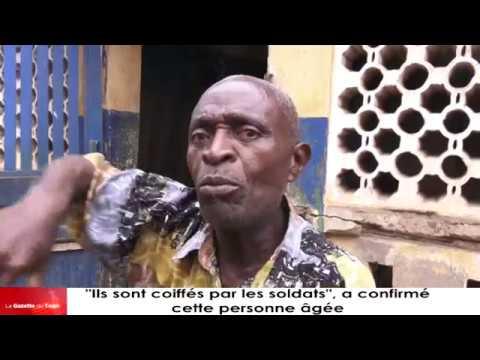 « Ils sont coiffés par les soldats », raconte cette personne âgée parlant des miliciens d'Atikoumé