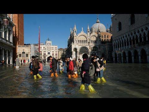 فيديو: البندقية تستعد لارتفاع جديد لمستوى المياه بعد إعلان حالة الكوارث …  - 12:59-2019 / 11 / 14