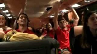 SPAIN 2010 World Cup Champions - Celebrations