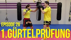 Kickbox Training #26 - Erster Gürtel / Prüfungsvorbereitung / Kickboxen / Boxen lernen / Köln