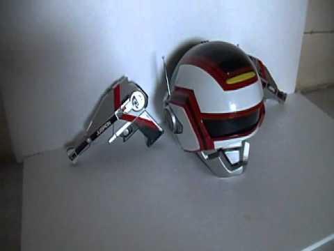 capacete jaspion e turbo magnum