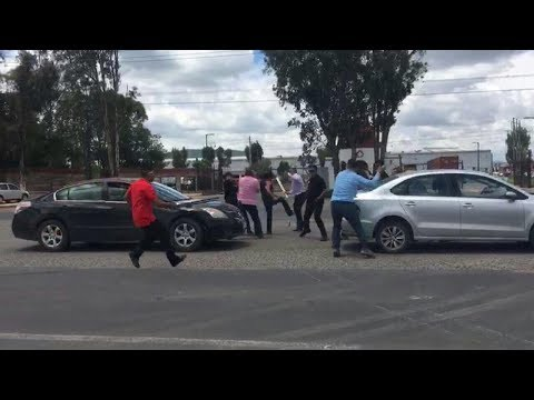 Choques violentos entre sindicatos de  Colgate-Mission Hills, en Gto.