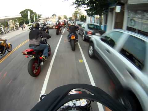 Mass Mayhem Ride 2013 Raw Footage Part 1