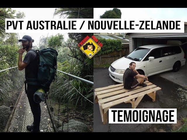 Cédric : 18 Mois en PVT Australie / Nouvelle-Zélande