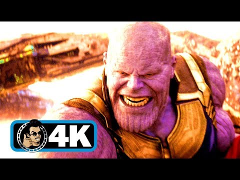 AVENGERS: INFINITY WAR Thanos Fight Movie Clip (4K ULTRA HD)
