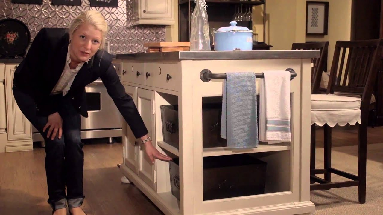 Paula Deen Home River House Kitchen Island From Universal Furniture    YouTube