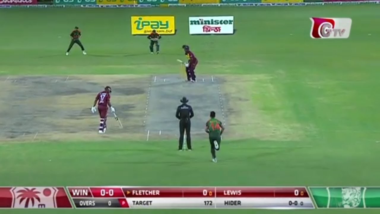 West Indies vs Bangladesh || 2nd T20 Highlights || 2018