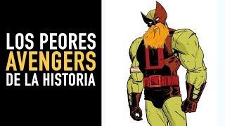 Los peores Avengers de la historia