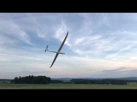 RC Flight Academy Duo Discus 1/3,3 Mit JK Klapptriebwerk