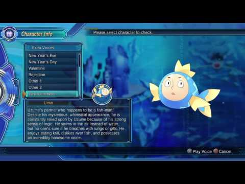 Megadimension Neptunia VII - Extra Voices (Umio Cast Comment - Sho Hayami)