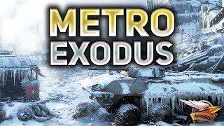 Metro Exodus - Метро Исход - Зима, Волга - Прохождение - Часть 1