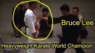 Bruce Lee One Inch Punch Brutal SPEED And POWER