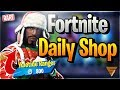 Fortnite Daily Shop *NEW* MIME TIME EMOTE (10 Dezember 2018)