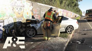 Live Rescue: Car SMASHES Into Wall (Season 3) | A&E
