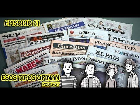 Randomcast: El periódico - Esos tipos opinan 61