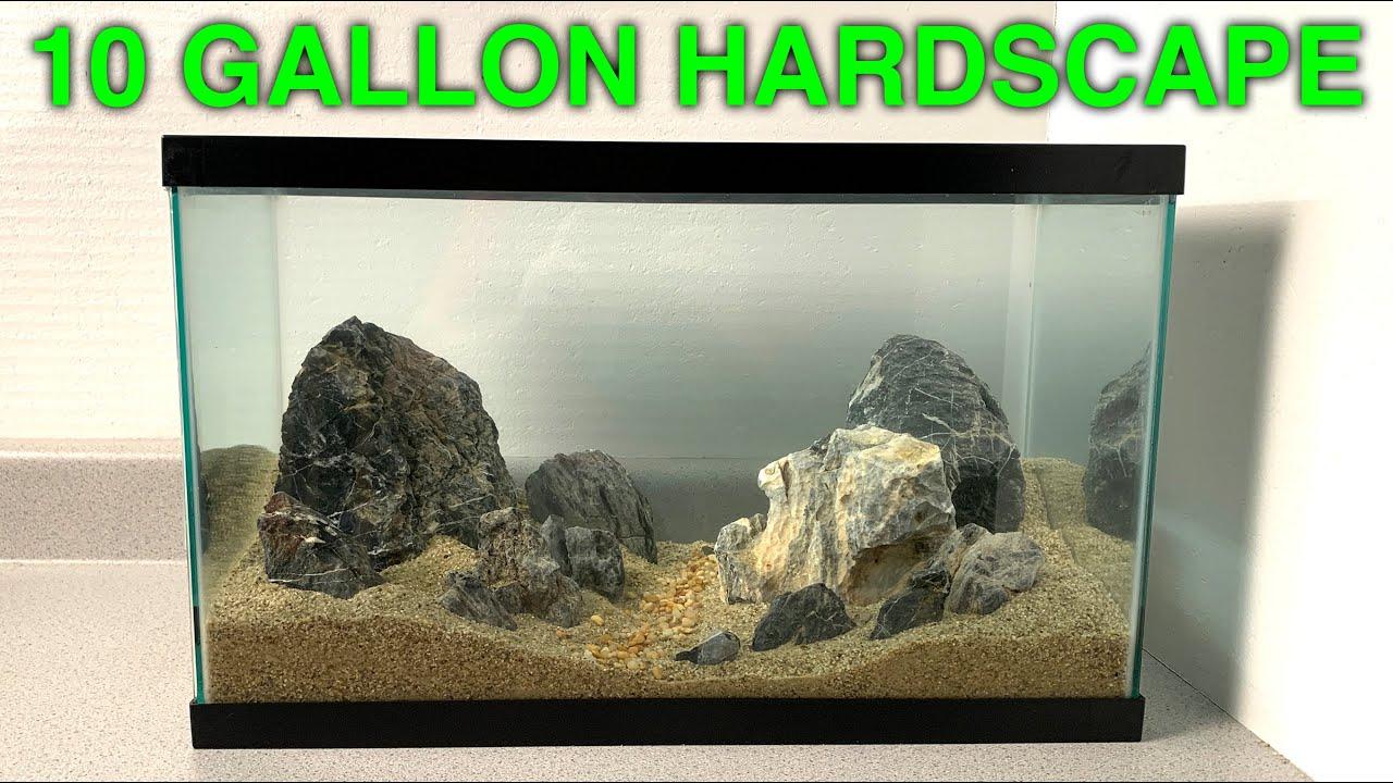 Download 10 Gallon Hardscape New Fish Tank Setup