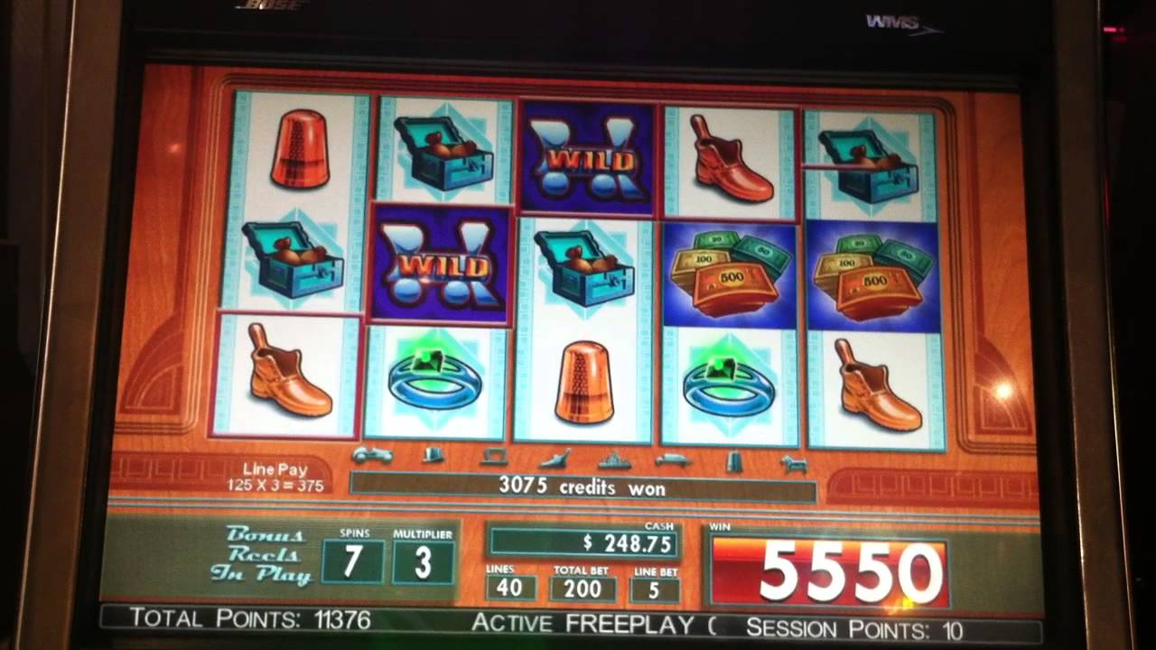 monopoly bonus city slot machine