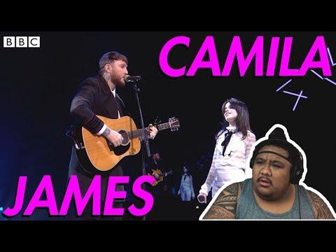 James Arthur & Camila Cabello - Say You Won't Let Go [MUSIC REACTION]