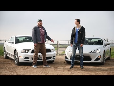 Hilarious Mustang vs FR-S vid is pure gearhead satire