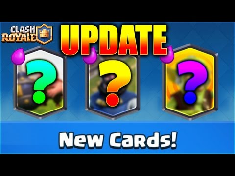 OMG! NEW CARDS IDEAS For Clash Royale NEW UPDATE!! | Update Ideas Wishlist 2016!