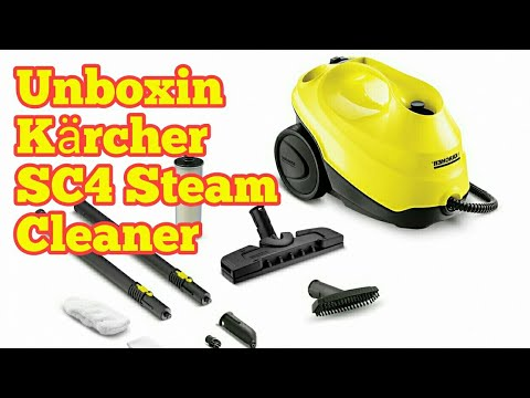 Amazing Kärcher SC4 Steam Cleaner