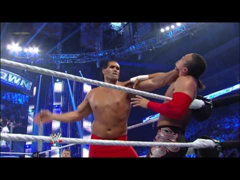 The Great Khali, Hornswoggle & Natalya vs....