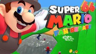 Super Mario 64 HD Unity - Gameplay (HD 60Fps) (Download Link in description)