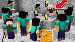 10 ХИРОБРИНОВ ПРОТИВ 1 НОТЧА УБИЙЦЫ( Minecraft Murder Mystery Trolling ) ТРОЛЛИНГ В МАЙНКРАФТЕ