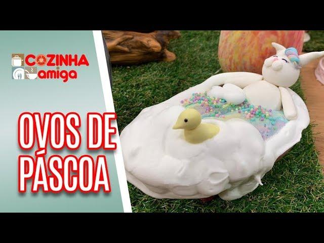 Ovo de Páscoa: Coelho na Banheira - Alê Peruzzo | Cozinha Amiga (21/03/19)