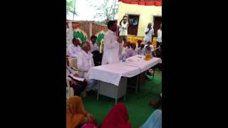 Ramlal Jat- MLA- Bhilwara - addressing people of DHANTHAL