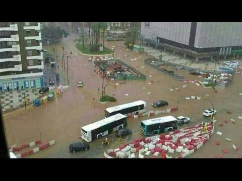 Extreme weather hits southern Spain