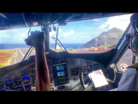 Saba Landing, Worlds Shortest Runway SXM-SAB